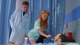 horny nurse Penny Pax adores be captivated by and pussy affection in the convalescent home