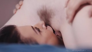 Ivy Lebelle & Evelyn Claire down Inverted Strap-On Bosses 4 Scene 4 - SweetHeartVideo