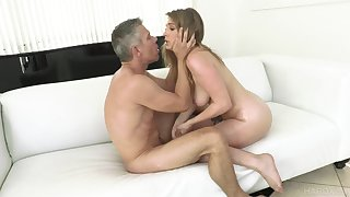 Order about doll likes the tender feel of dick pumping her so hard