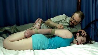 Cubby Amateur In Woodland Loves Bdsm
