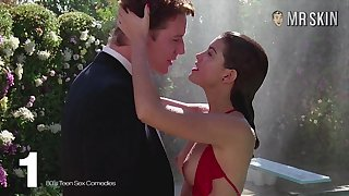 Naughty celebrity compilation dusting