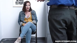 Hypnotizing milf Sovereign Syre gets punished for shoplifting