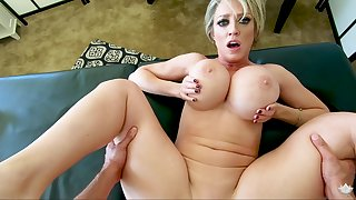 MILF fro huge tits, superb POV sex clubby
