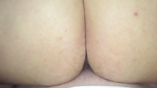 This BBW loves the feel of my shaft in her pussy and she loves reverse cowgirl