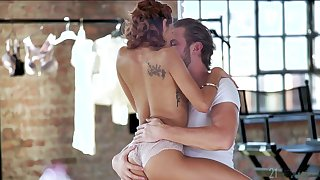 Sweet babe lets lover to crave will not hear of ass marginally bit