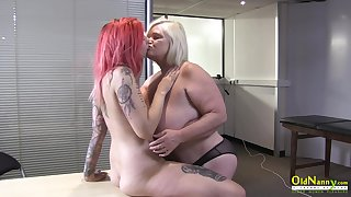 OldNannY British Adult and Sapphic Striptease