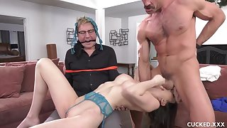 Cucked-Angelina Damanti-Sign The Trust To Me You Limp D