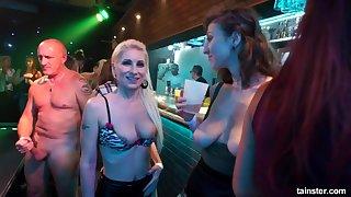 Drunk bandeau Orgy dethrone flashing