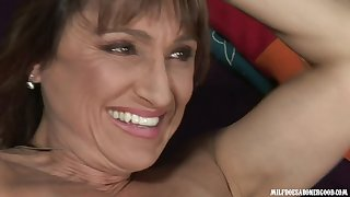Lickerish MILF Jillian Foxxx in hard interracial video