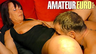XXX Omas - Hot Dirty Sex Up German Passionate Couple