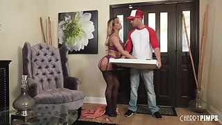 Cherie Deville Along to Lady And Along to Pizza Boy