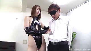 Seira Matsuoka tries her hand convenient female domination on every side a lover